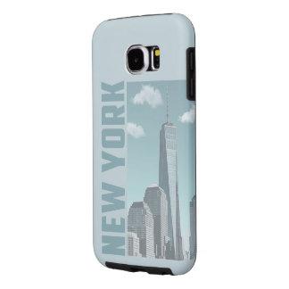 Funda Samsung Galaxy S6 Horizonte de Nueva York