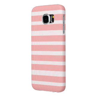 Funda Samsung Galaxy S6 Líneas rosadas modelo