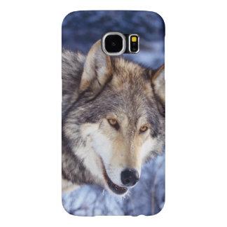 Funda Samsung Galaxy S6 Lobo del invierno