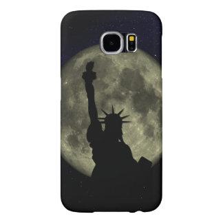 Funda Samsung Galaxy S6 Luna y señora Liberty