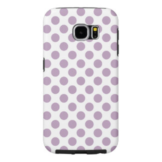 Funda Samsung Galaxy S6 Lunares de la lila