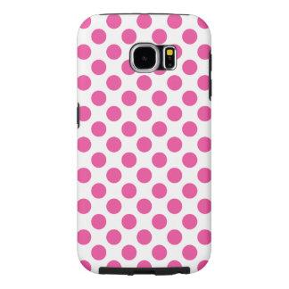 Funda Samsung Galaxy S6 Lunares rosados