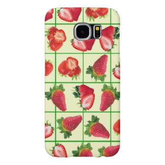 Funda Samsung Galaxy S6 Modelo de las fresas