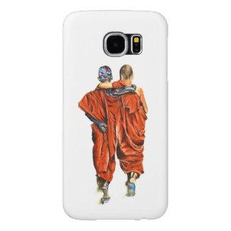 Funda Samsung Galaxy S6 Monjes budistas