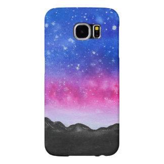 Funda Samsung Galaxy S6 Montaña de la galaxia