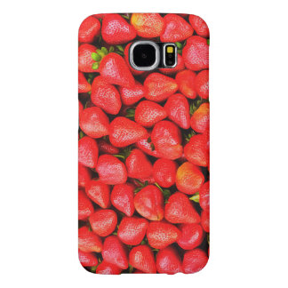 Funda Samsung Galaxy S6 ¡Muchas fresas!