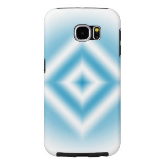 Funda Samsung Galaxy S6 pendiente azul del diamante del Personalizar-cielo