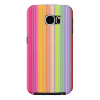 Funda Samsung Galaxy S6 Personalice - el fondo multicolor de la pendiente
