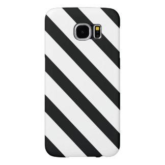 Funda Samsung Galaxy S6 Rayó (diagonal negra y del blanco el |) cualquier