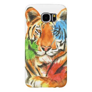 Funda Samsung Galaxy S6 Salpicadura del tigre