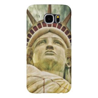 Funda Samsung Galaxy S6 Señora Liberty, estatua de la libertad
