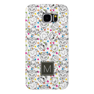 Funda Samsung Galaxy S6 Sr. Men y pequeño modelo de lunares del arco iris
