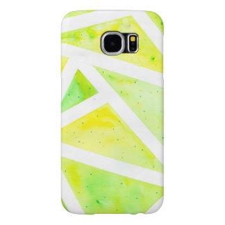 Funda Samsung Galaxy S6 Triángulo verde