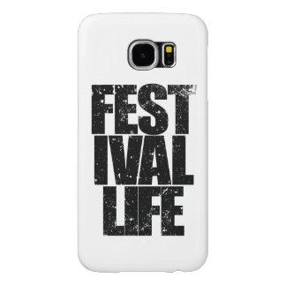 Funda Samsung Galaxy S6 VIDA del FESTIVAL (negro)