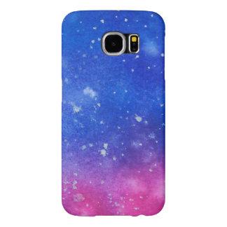 Funda Samsung Galaxy S6 Watercolour de la galaxia