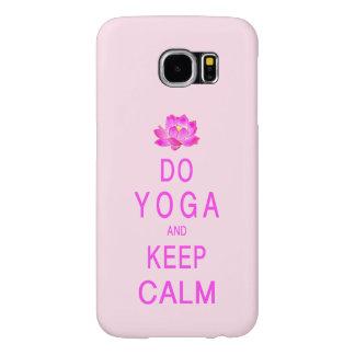 Funda Samsung Galaxy S6 Yoga con la flor de Lotus
