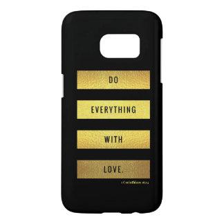 Funda Samsung Galaxy S7 Amor