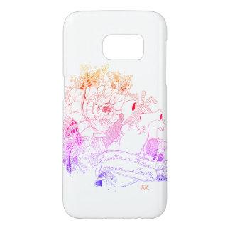 Funda Samsung Galaxy S7 Amor de Sonoma (arco iris Ombré)