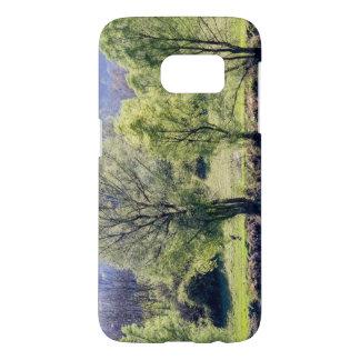 Funda Samsung Galaxy S7 Árboles verdes hermosos