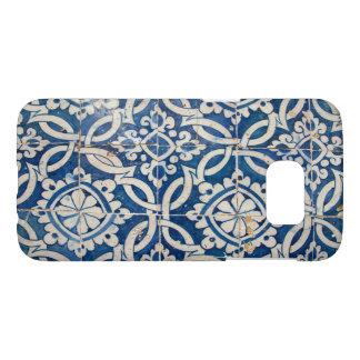 Funda Samsung Galaxy S7 Azulejo del portugués del vintage