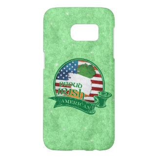 Funda Samsung Galaxy S7 Caja americana irlandesa orgullosa del teléfono