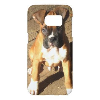 Funda Samsung Galaxy S7 Caja de la galaxia S7 de Samsung del perrito del