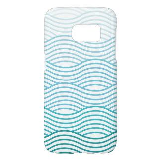 Funda Samsung Galaxy S7 Caja de las ondas del humor del verano