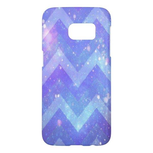 Funda Samsung Galaxy S7 Caja del teléfono de la galaxia S7 de Chevron