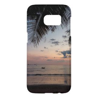 Funda Samsung Galaxy S7 Caja del teléfono de la galaxia S7 de la palma y