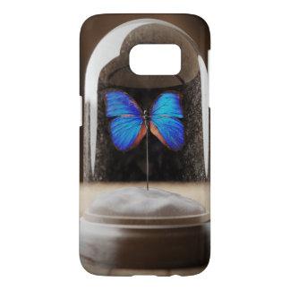 Funda Samsung Galaxy S7 Caja del teléfono del Cloche de la mariposa