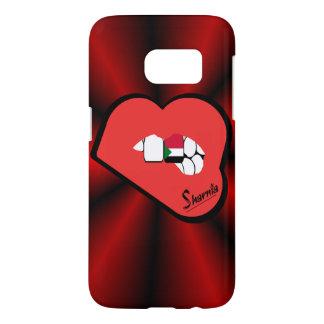 Funda Samsung Galaxy S7 Caja del teléfono móvil de Sudán de los labios de