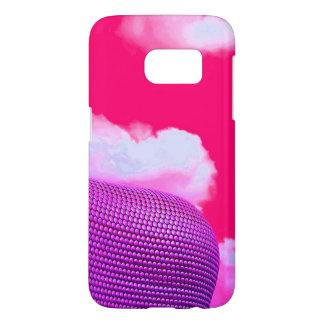 Funda Samsung Galaxy S7 Caja rosada del teléfono de la plaza de toros