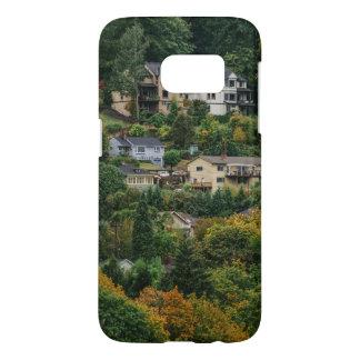Funda Samsung Galaxy S7 Casas en la colina