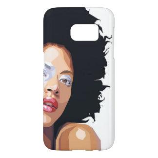 Funda Samsung Galaxy S7 caso Afro-céntrico de Samsung S7