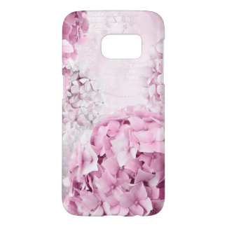 Funda Samsung Galaxy S7 Collage del pastel del Hydrangea de la flor de la