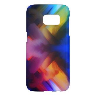 Funda Samsung Galaxy S7 colores del arte de la pintura