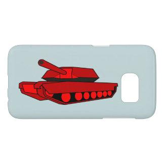 Funda Samsung Galaxy S7 Cubierta roja Samsung s7 de la caja del teléfono