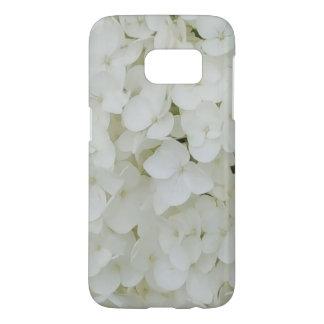 Funda Samsung Galaxy S7 El Hydrangea florece el flor elegante blanco