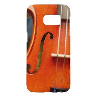 Funda Samsung Galaxy S7 El iPhone Samsung de la música del violín llama