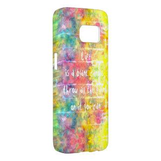 Funda Samsung Galaxy S7 [el paño del pintor] teñido anudado apenado del