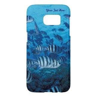 Funda Samsung Galaxy S7 Escuela de los pescados rayados - casamata