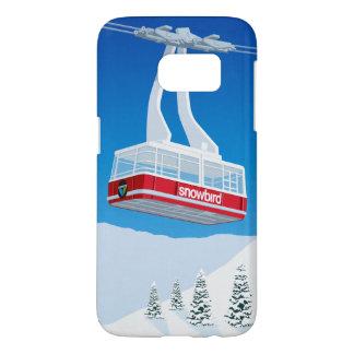 Funda Samsung Galaxy S7 Esquí del Snowbird