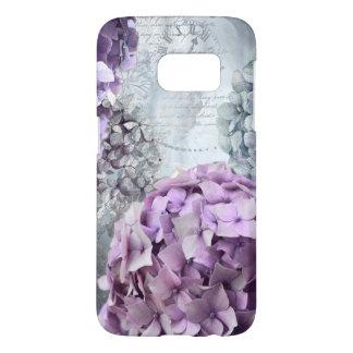 Funda Samsung Galaxy S7 Estampado de plores floral del Hydrangea del