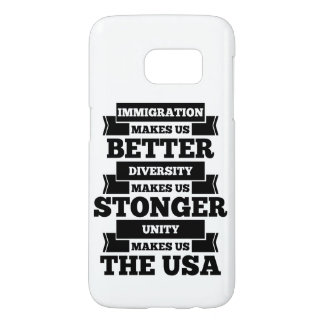Funda Samsung Galaxy S7 Favorable inmigración