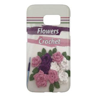 Funda Samsung Galaxy S7 Ganchillo de las flores