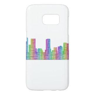 Funda Samsung Galaxy S7 Horizonte de la ciudad de Denver