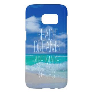 Funda Samsung Galaxy S7 La playa soña los casos de Samsung