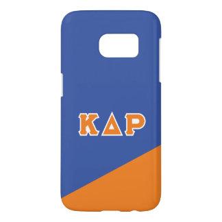Funda Samsung Galaxy S7 Letras del Griego de rho el | del delta de Kappa