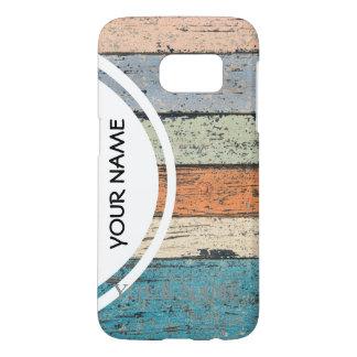 Funda Samsung Galaxy S7 Modelo de madera gastado