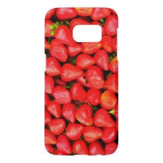 Funda Samsung Galaxy S7 ¡Muchas fresas!